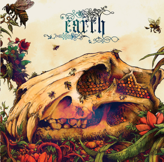 Earth_the bee made honey in lion's skull